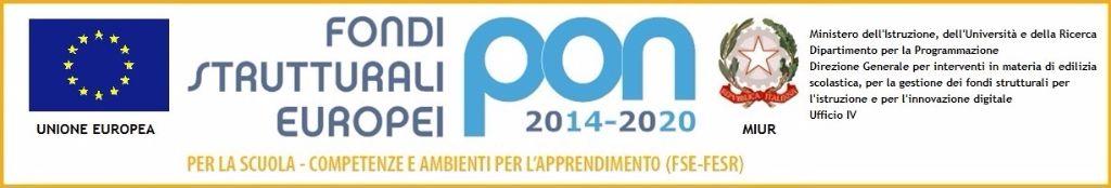 logo del progetto PON